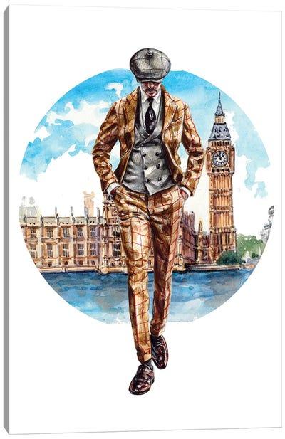 The London Man Canvas Art Print