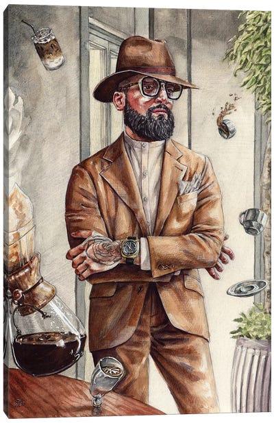 Coffee King Canvas Art Print