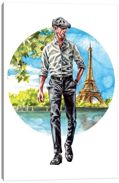 The Parisian Man Canvas Art Print