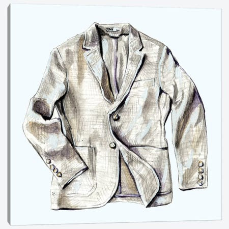 OOTD ONS Jacket Canvas Print #SFM56} by Sunflowerman Canvas Artwork