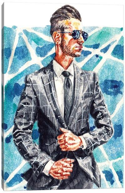 Men's Style Canvas Art Print