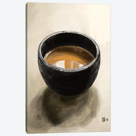 Elegant Espresso Canvas Print #SFM72} by Sunflowerman Canvas Print