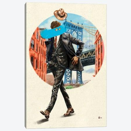 Diverso In London Canvas Print #SFM8} by Sunflowerman Art Print