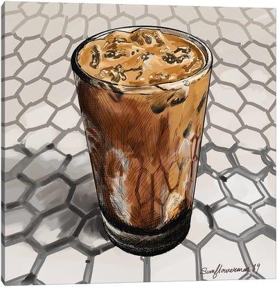 Colt 26 Espresso Canvas Art Print
