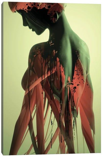 Flesh Canvas Art Print