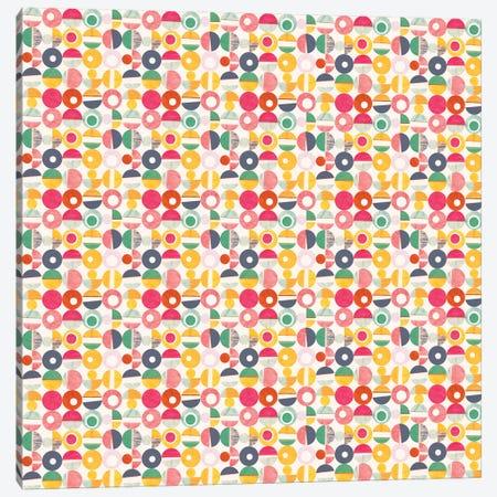 Paper Cutouts Canvas Print #SFR106} by Sara Franklin Canvas Artwork