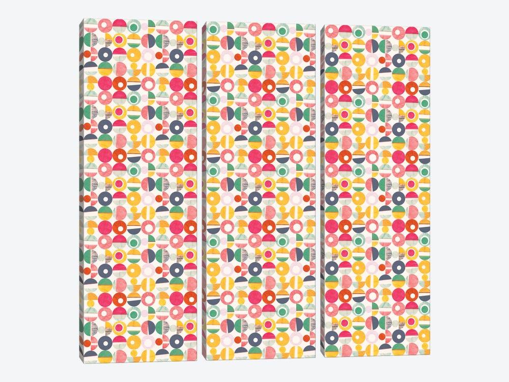 Paper Cutouts by Sara Franklin 3-piece Canvas Art