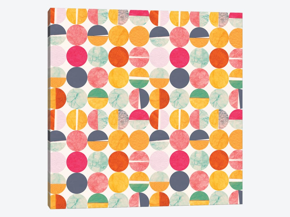 Paper Dots by Sara Franklin 1-piece Art Print