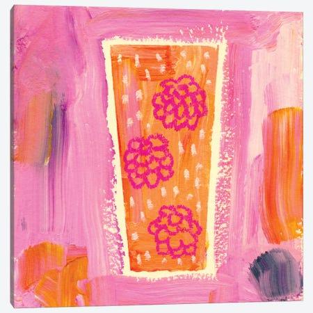 Berry Sparkler Canvas Print #SFR10} by Sara Franklin Canvas Wall Art