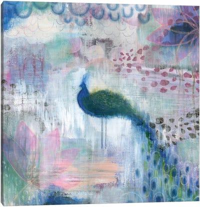 Peacock Canvas Art Print