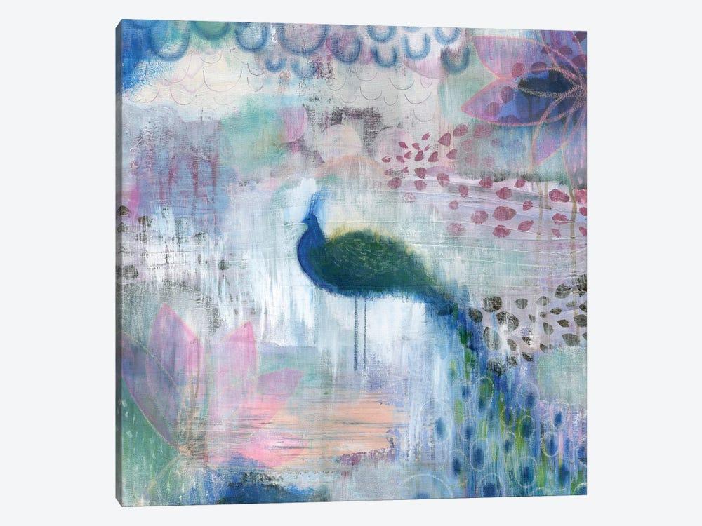 Peacock by Sara Franklin 1-piece Canvas Print