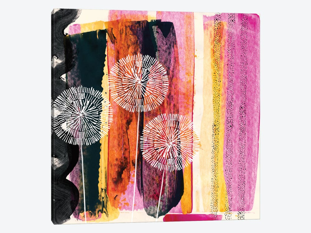 Pink Escape by Sara Franklin 1-piece Canvas Wall Art