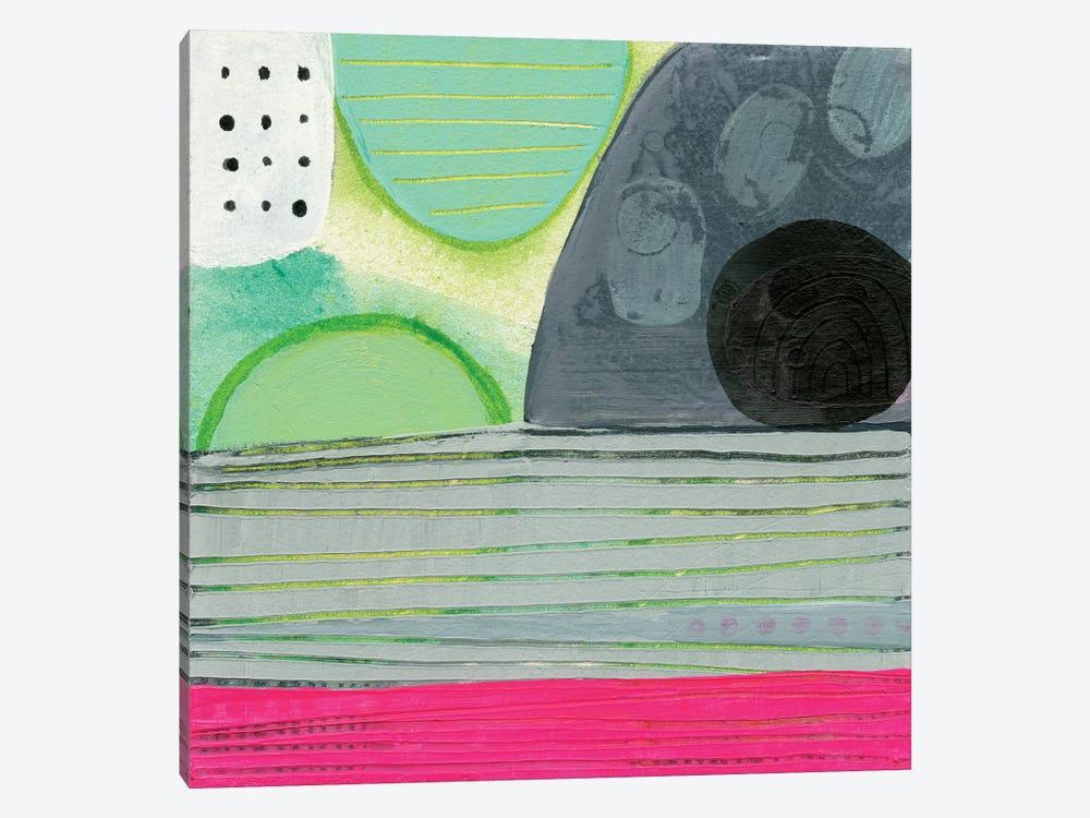 Pink Horizon by Sara Franklin 1-piece Canvas Print