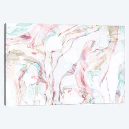 Pink Marble Canvas Print #SFR117} by Sara Franklin Canvas Art Print