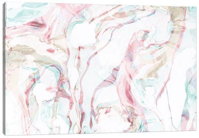 Pink Marble Canvas Art Print
