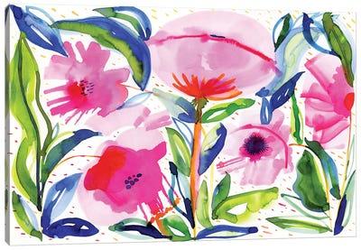 Pink Poppies Canvas Art Print