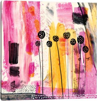 Pink Retreat Canvas Art Print