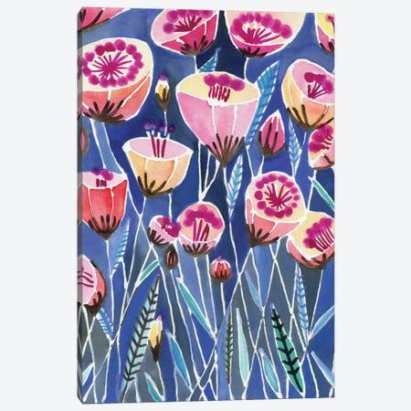 Poppies Of Caliofornia Canvas Print #SFR123} by Sara Franklin Art Print