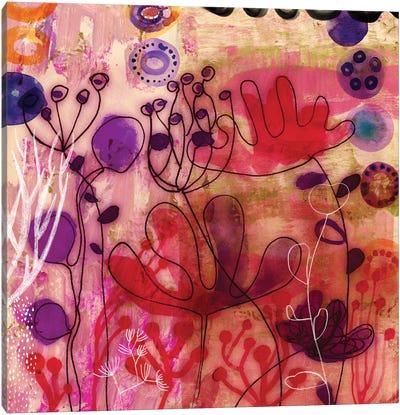Sea Flowers Canvas Print #SFR136