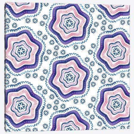 Star Symmetry Canvas Print #SFR144} by Sara Franklin Canvas Artwork