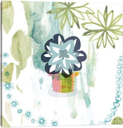 Succulent Flower Canvas Print #SFR146