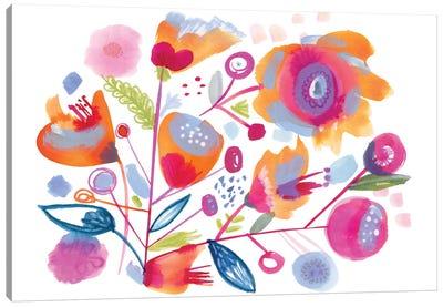 Sweet Peach Canvas Art Print