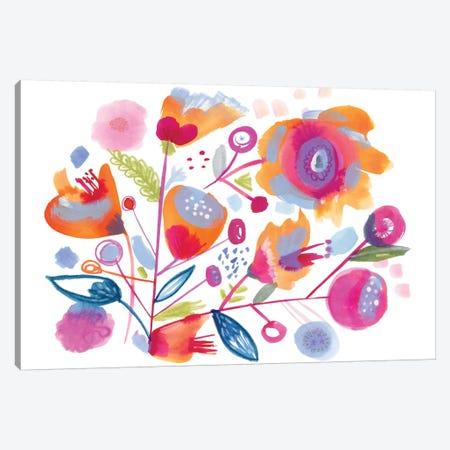 Sweet Peach Canvas Print #SFR151} by Sara Franklin Canvas Art