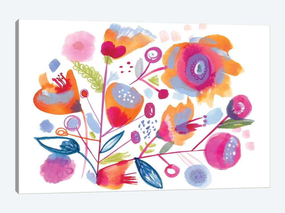 Sweet Peach by Sara Franklin 1-piece Canvas Artwork