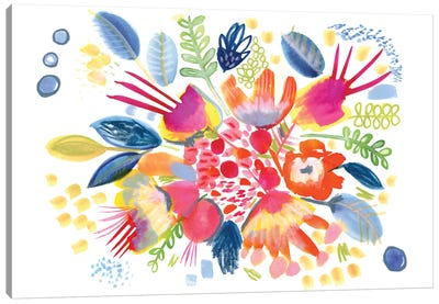 Sweet Petals Canvas Art Print