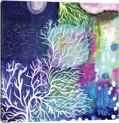 Swim To The Sea Canvas Art Print
