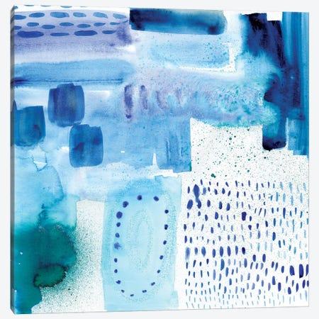 Under Blue Canvas Print #SFR162} by Sara Franklin Art Print