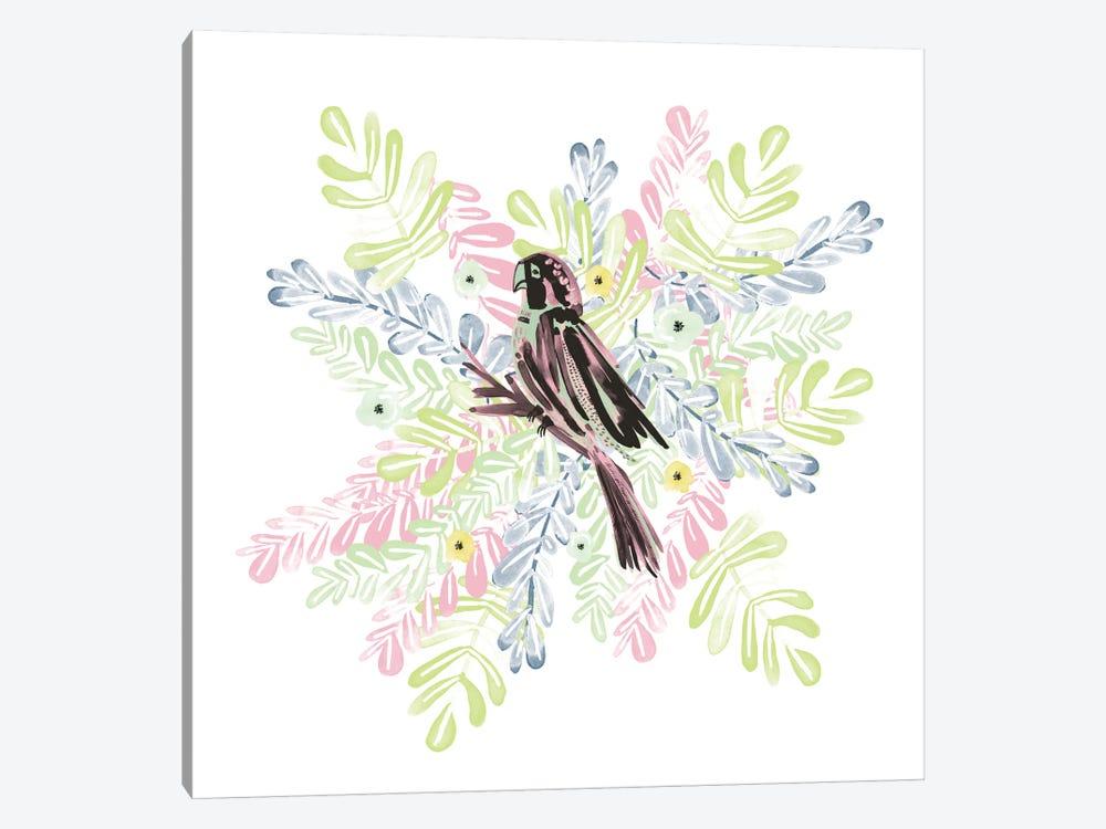 Wild Parrot by Sara Franklin 1-piece Canvas Artwork