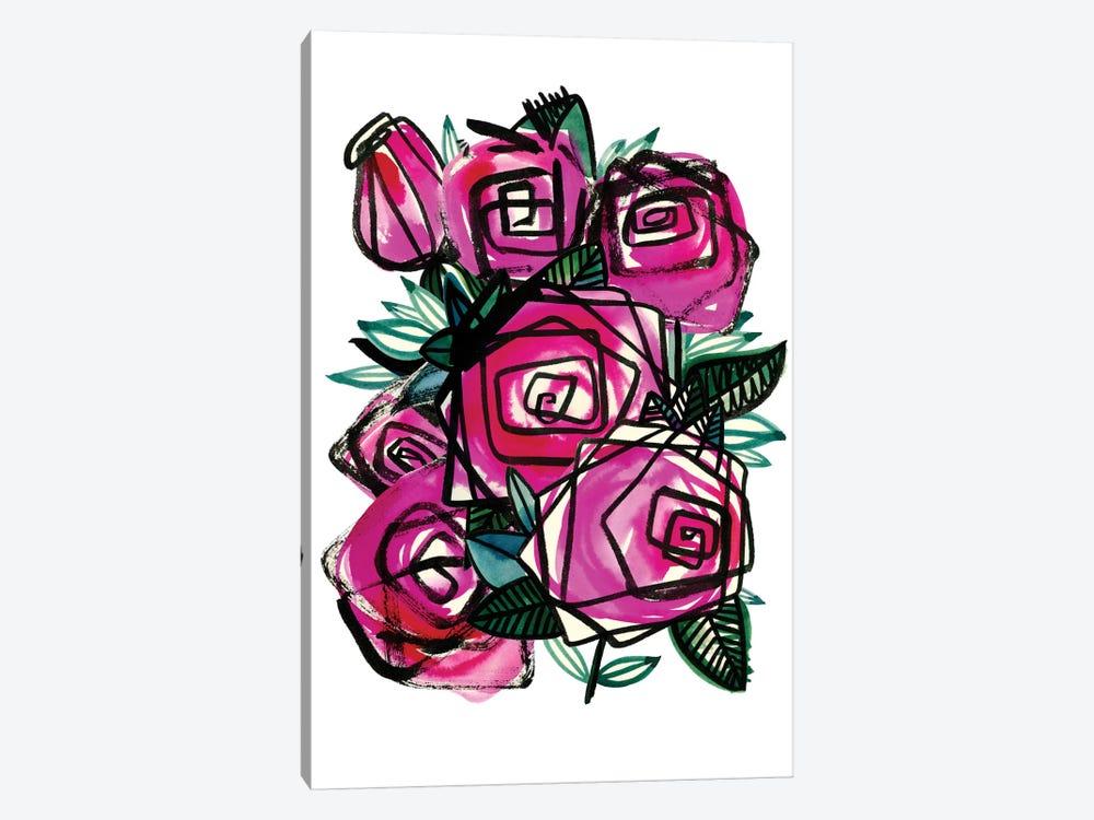 Wild Roses by Sara Franklin 1-piece Art Print