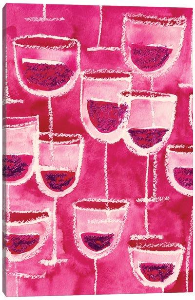 Wine Glasses Canvas Print #SFR168