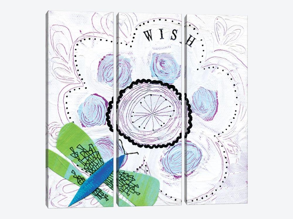 Wish by Sara Franklin 3-piece Canvas Art Print