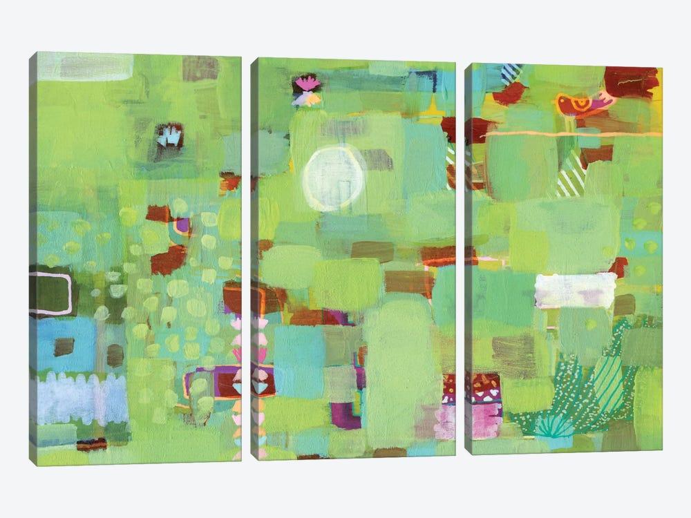 Wondering by Sara Franklin 3-piece Canvas Art Print