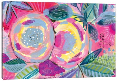 Yellow Rose Canvas Print #SFR171