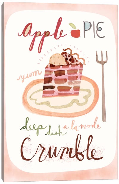Apple Pie Canvas Art Print