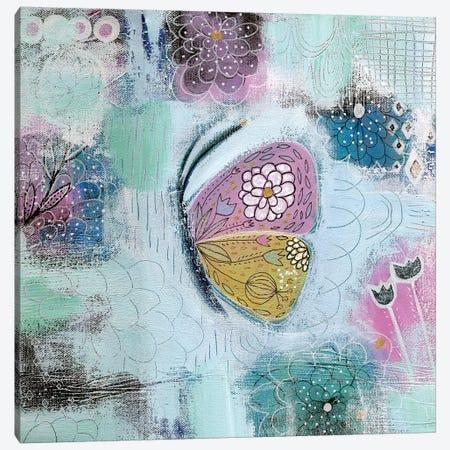 Butterfly Canvas Print #SFR176} by Sara Franklin Canvas Print