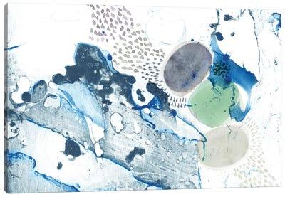Blue Marble Canvas Art Print