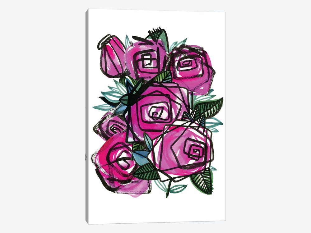 Roses by Sara Franklin 1-piece Art Print