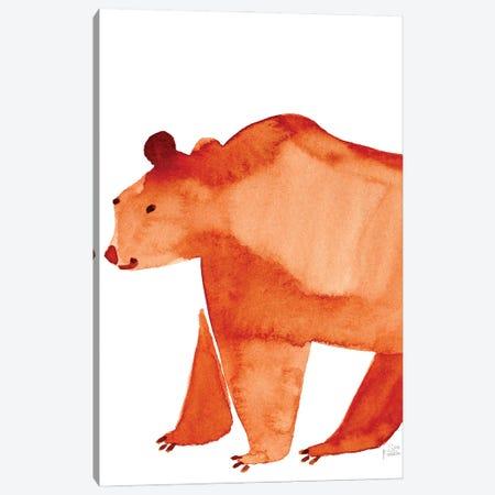 Bear Canvas Print #SFR197} by Sara Franklin Canvas Art Print