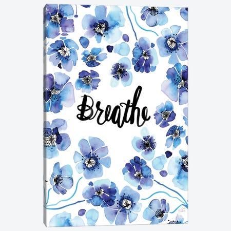 Breathe Canvas Print #SFR202} by Sara Franklin Canvas Art