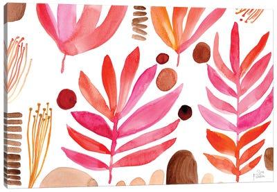 Burnt Leaves Canvas Art Print
