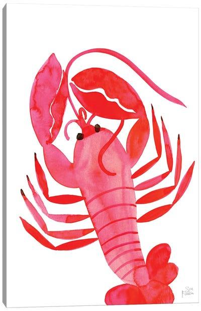 Lobster Canvas Art Print