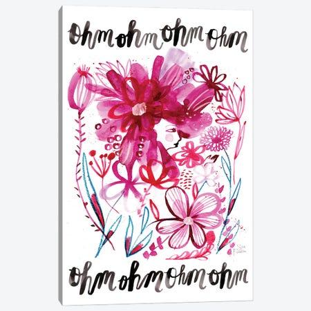 Ohm Garden Canvas Print #SFR212} by Sara Franklin Art Print