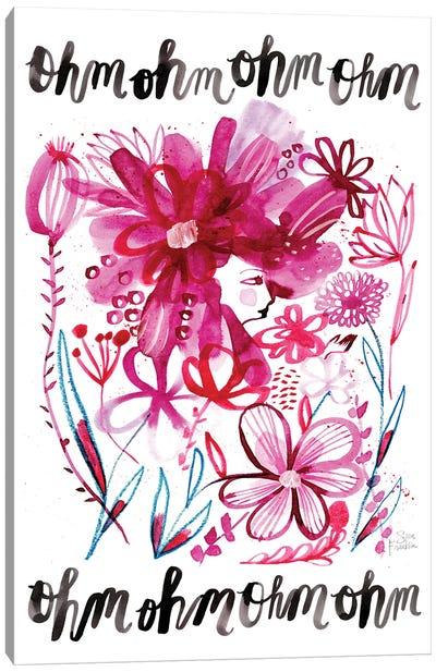 Ohm Garden Canvas Art Print