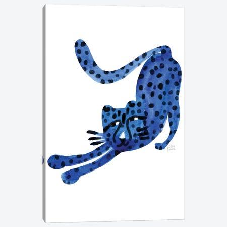Wild Cat Canvas Print #SFR222} by Sara Franklin Canvas Art