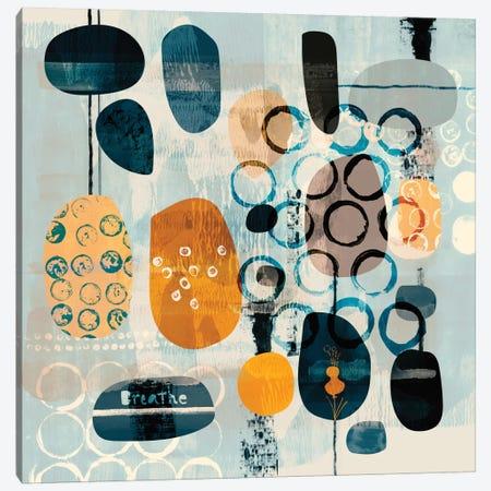 Breathe Canvas Print #SFR23} by Sara Franklin Canvas Print