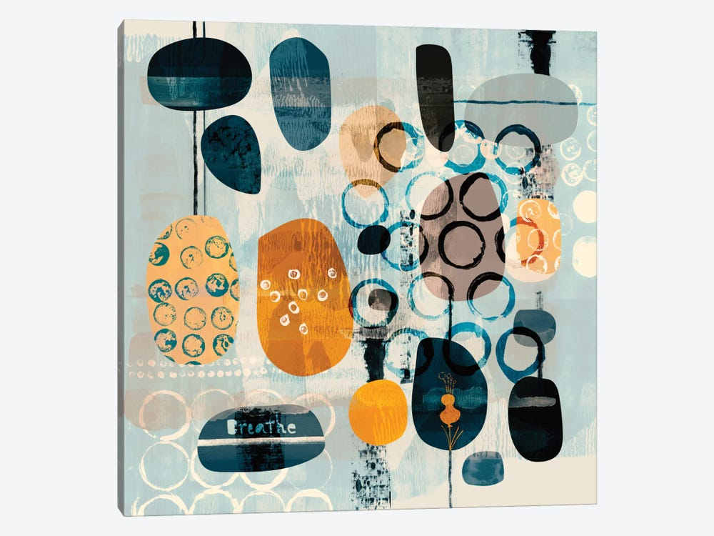 Breathe by Sara Franklin 1-piece Canvas Art Print